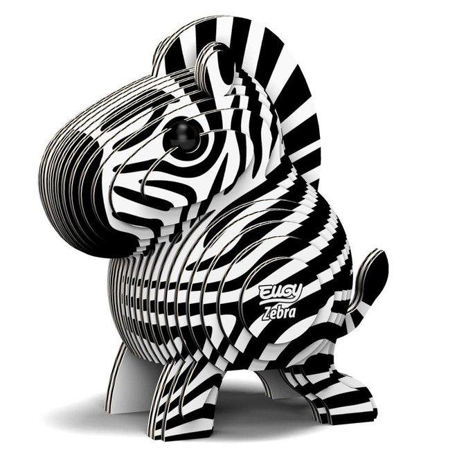 EUGY - Puzzel 3D - Zebra