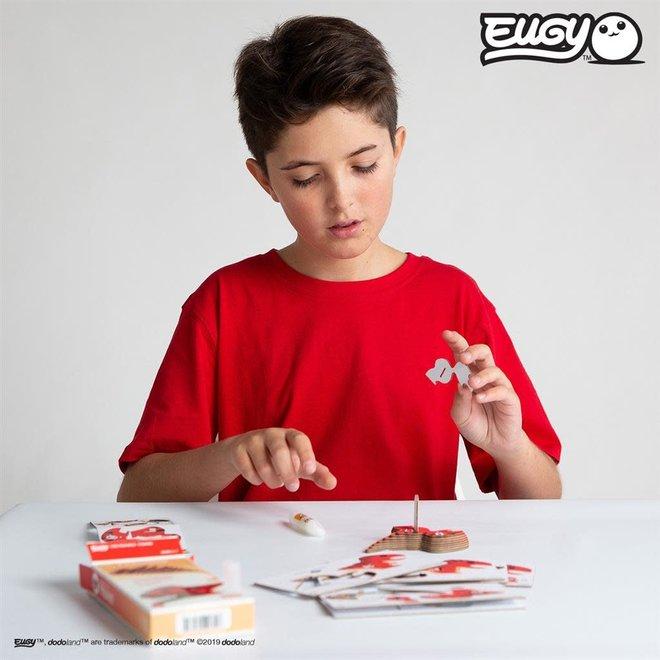 EUGY - Puzzel 3D - Tyranno