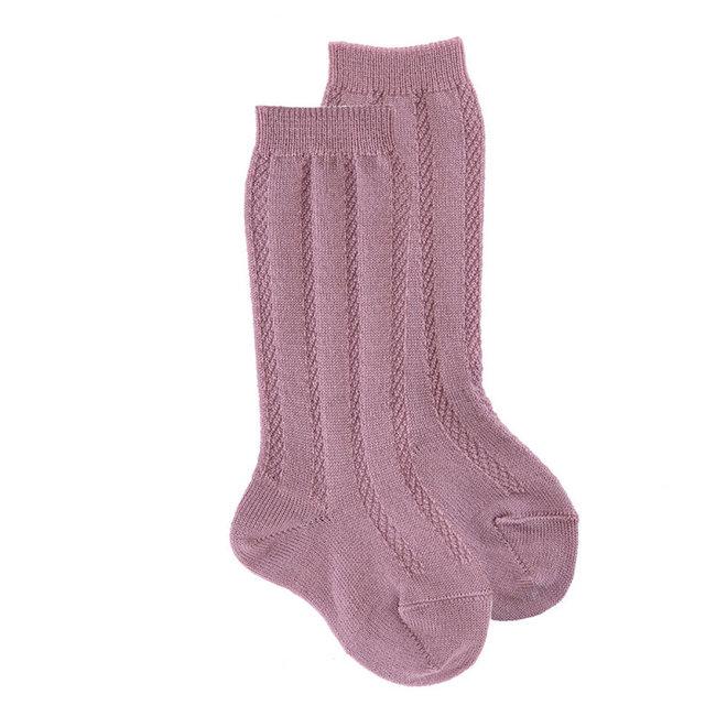 CONDOR - Kniesokken - Wool Patroon (939)