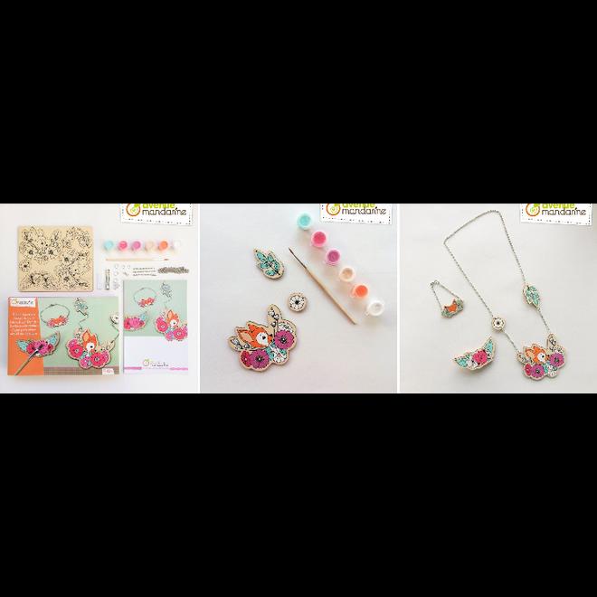 AVENUE MANDARINE - Creatief met Verf - Juwelen maken (7+)