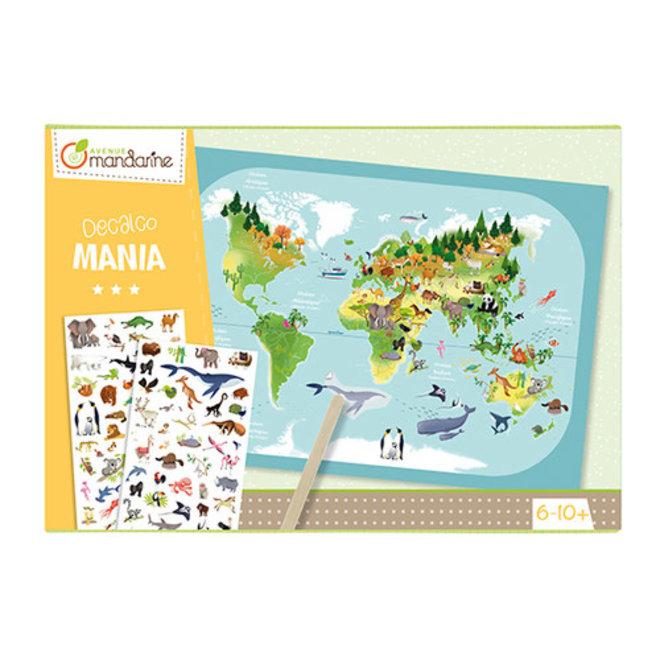 AVENUE MANDARINE - Krassen - Wereldkaart