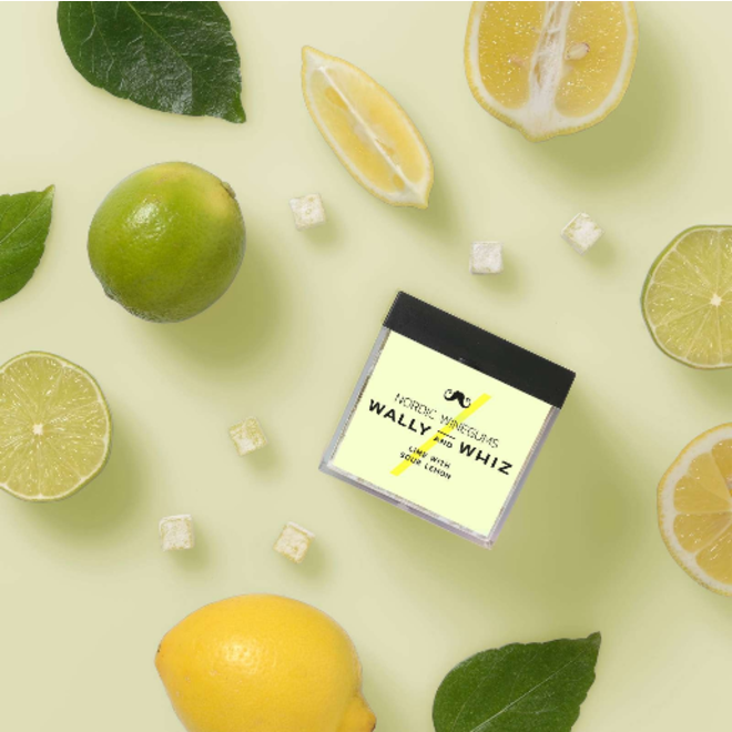 WALLY&WHIZ - Nordic Gourmet Vegan Gummies -  Lime w Sour Lemon