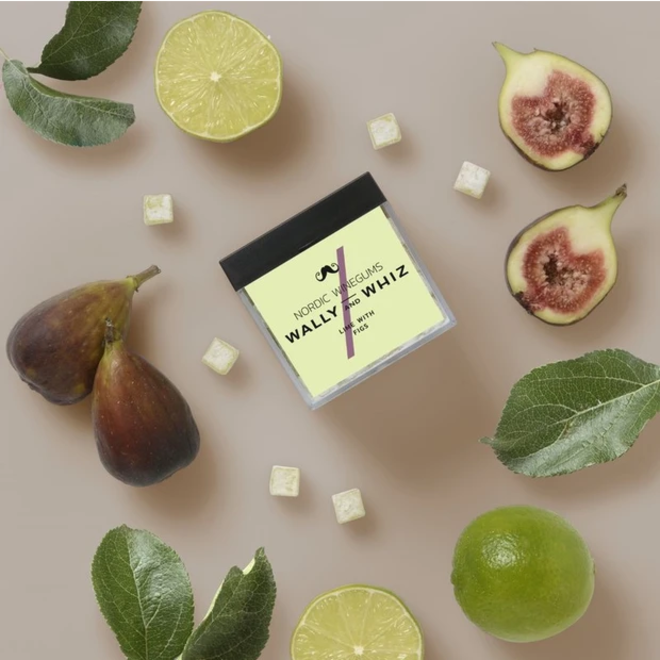 WALLY&WHIZ - Nordic Gourmet Vegan Gummies -  Lime w Figs