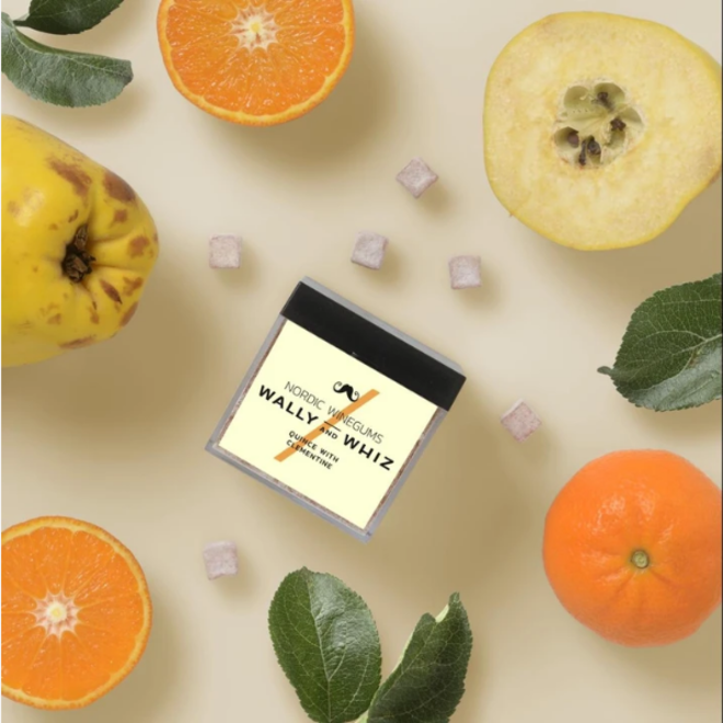 WALLY&WHIZ - Nordic Gourmet Vegan Gummies -  Quince w Clementine