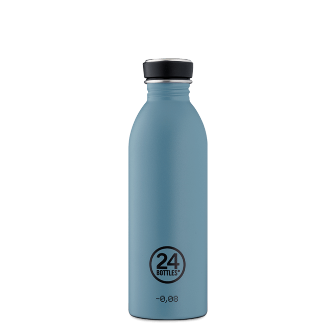 24°BOTTLES - Urban Bottle - Powder Blue 500ml
