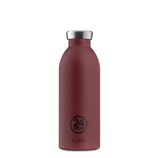 24°BOTTLES - Clima Bottle - Country red 500ml