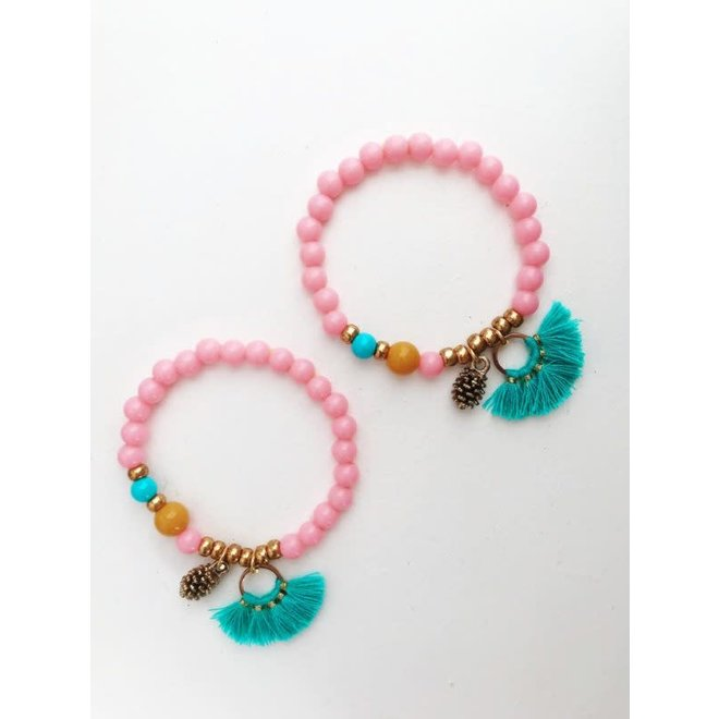 BY MELO - Armband Dennenappel