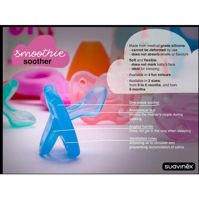 SUAVINEX - Anatomical  Smoothie - Siliconen (0/6m)