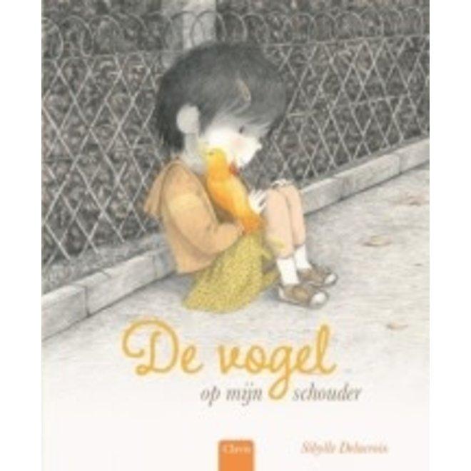 CLAVIS - Kijk - & Voorleesboek - Vogel op mijn schouder (+5jaar)
