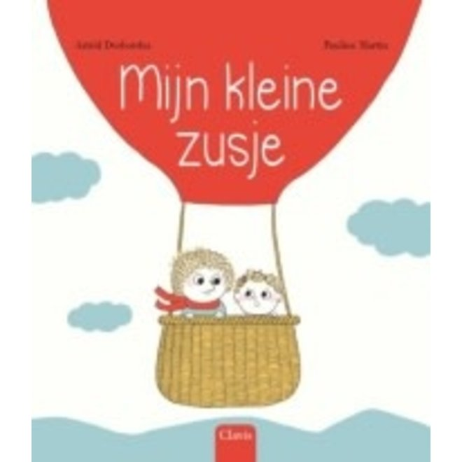 CLAVIS - Kijk - & Voorleesboek - Mijn kleine zusje (+4jaar)