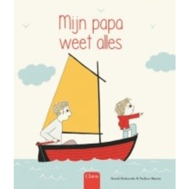 CLAVIS - Kijk - & Voorleesboek - Mijn papa weet alles (+4jaar)