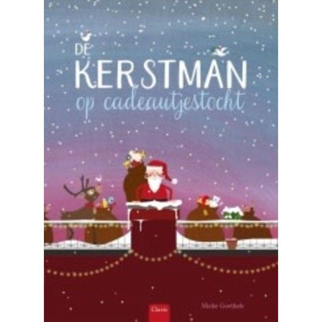 CLAVIS - Kijk - & Voorleesboek - Kerstman op cadeautjestocht (+4jaar)