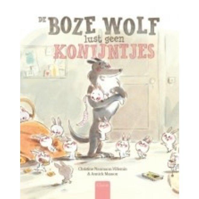 CLAVIS - Kijk - & Voorleesboek - De boze wolf lust geen konijntjes (+5jaar)