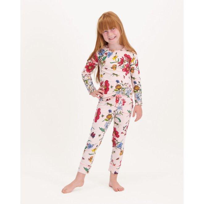 CLAESEN'S - Pyjama - Bees Pink (Maat 92 tem 116)
