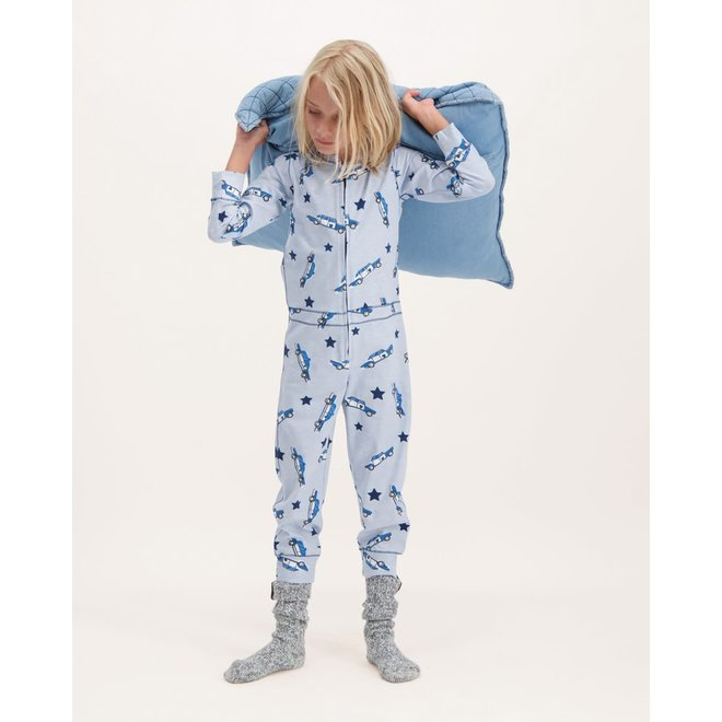 CLAESEN'S - Pyjama Onesie - Car  (Maat 104 tem 128)