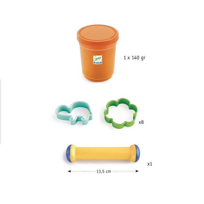 DJECO - Plasticine - Starter Set Small