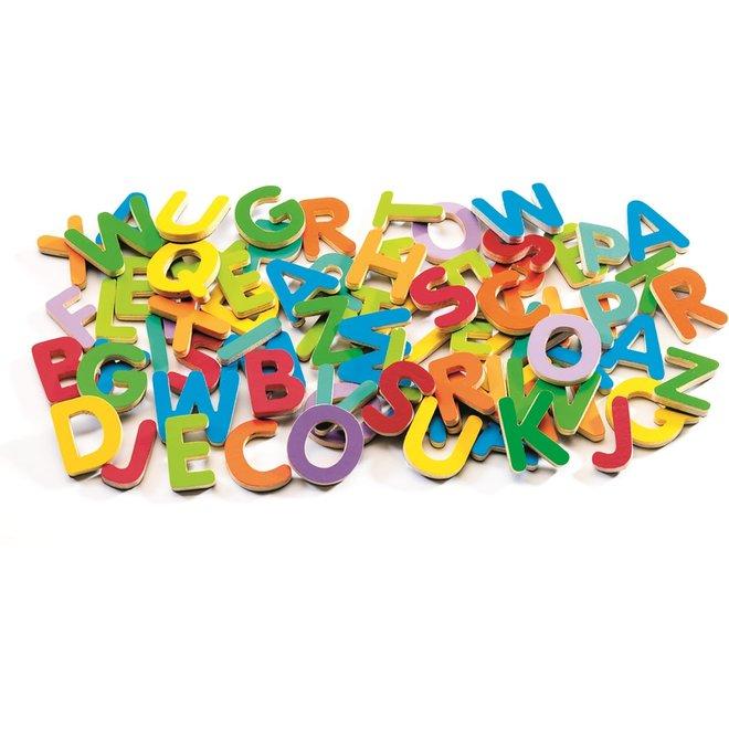 DJECO - Houten Magneten - 83 Letters