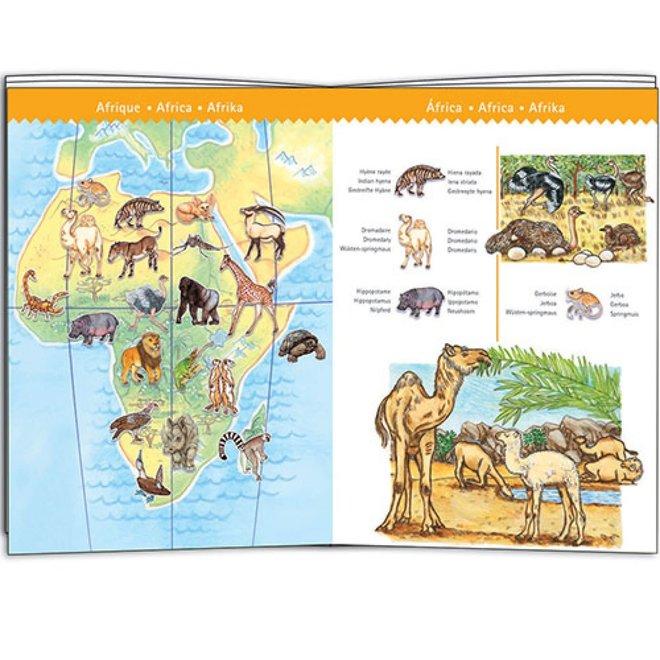 DJECO - Puzzel Observation - Wereld dieren 5+