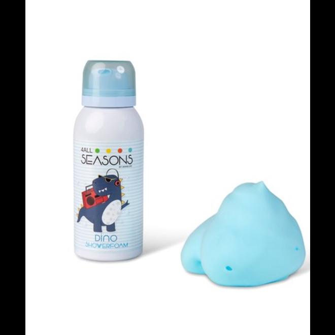 4ALLSEASONS - Shower Foam Purple Dino (100ml)