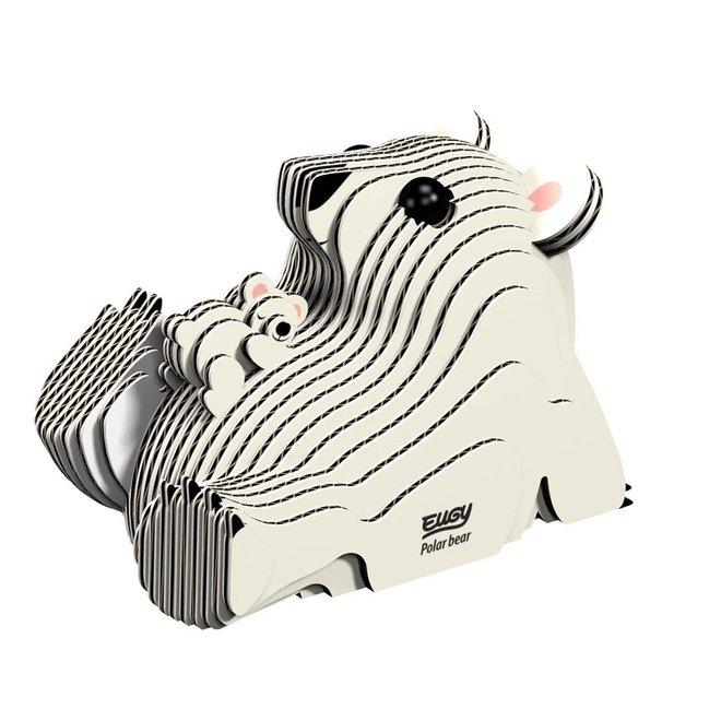 EUGY - Puzzel 3D - Ijsbeer