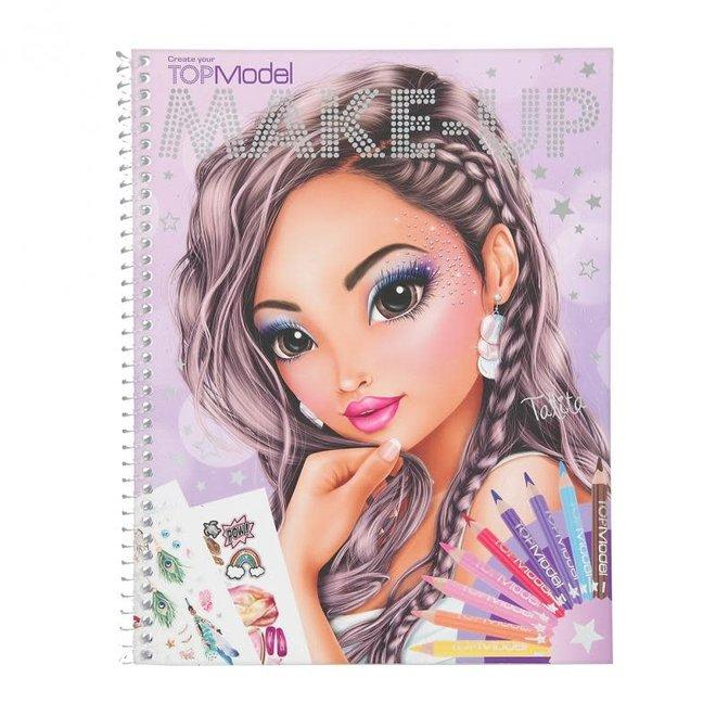 DEPESCHE - Kleurboek - Topmodel Make-Up 6+