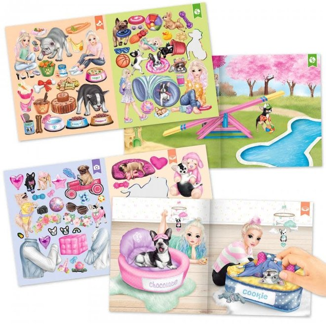 DEPESCHE - Stickerboek - Topmodel Fun Dog  5+