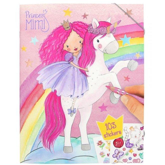 DEPESCHE - Kleurboek - Princess Mimi 4+
