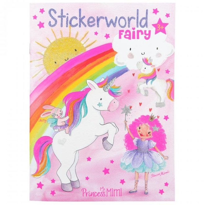 DEPESCHE - Stickerboek - Princess Mimi Fairy 4+