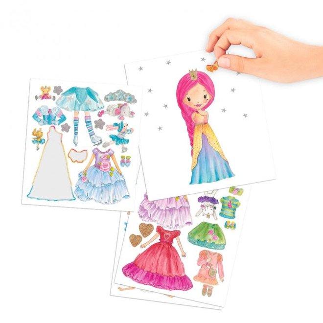DEPESCHE - Stickerboek - Princess Mimi Dress Me Up 4+