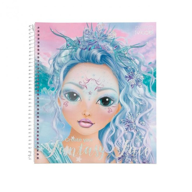 DEPESCHE - Kleurboek - Create your Fantasy Face 5+