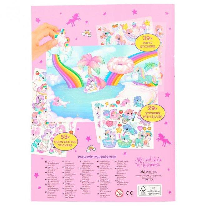 DEPESCHE - Stickerboek - Ylvi Create your Unicorn World 5+