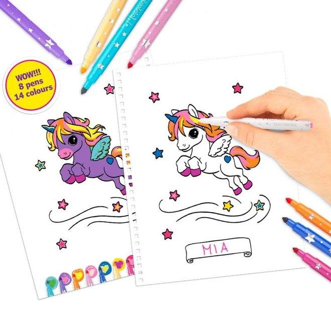 DEPESCHE - Kleurboek - Ylvi Unicorn 4+