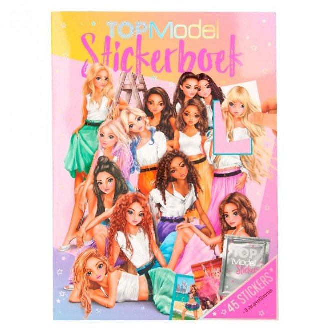DEPESCHE - Stickerboek - Top Model (Incl Alle stickers) 5+