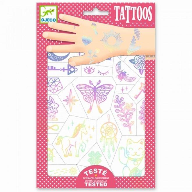 DJECO - Tattoo -  Gelukbrengers
