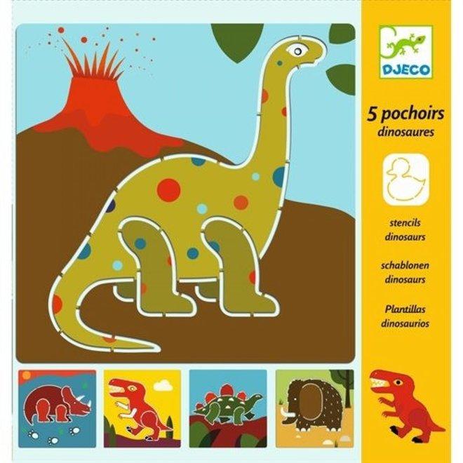 DJECO - Sjabloon - Dinosaurus
