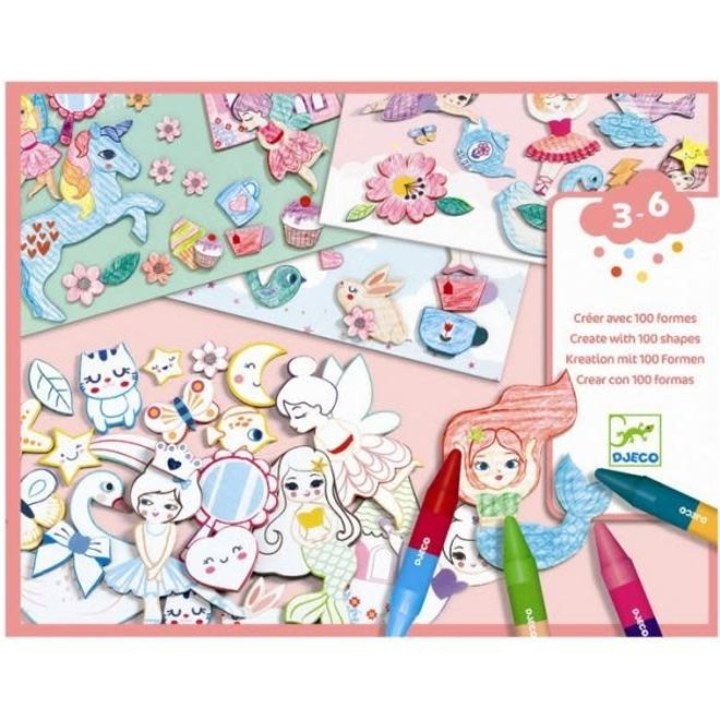 DJECO - Creatief met Papier - Meisjes 3+