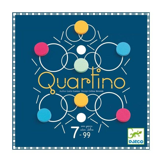 DJECO - Gezelschapsspel - Quartino 7+