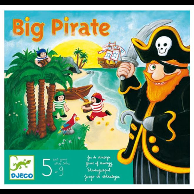 DJECO - Gezelschapsspel - Big Pirate 5+