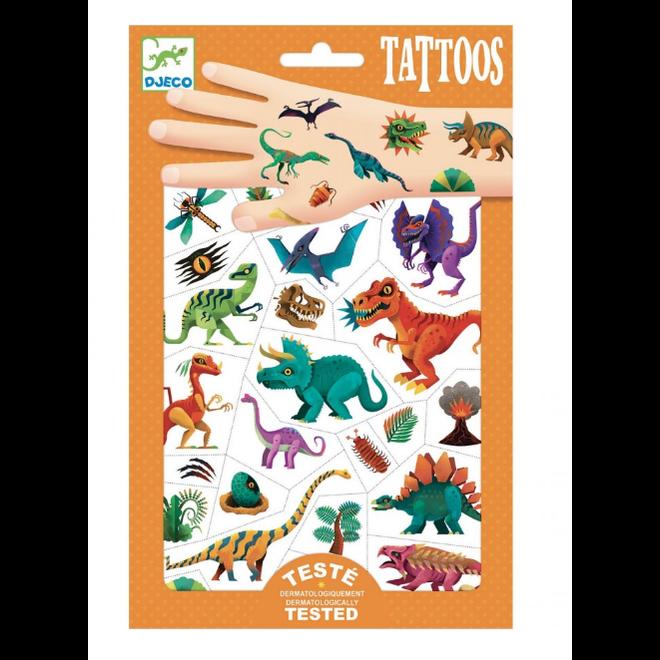 DJECO - Tattoo - Dino Club