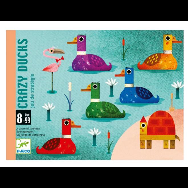 DJECO - Gezelschapsspel - Crazy Ducks 8+