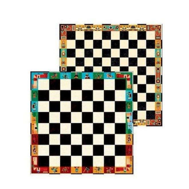 DJECO - Gezelschapsspel - Schaken&Dammen 6+