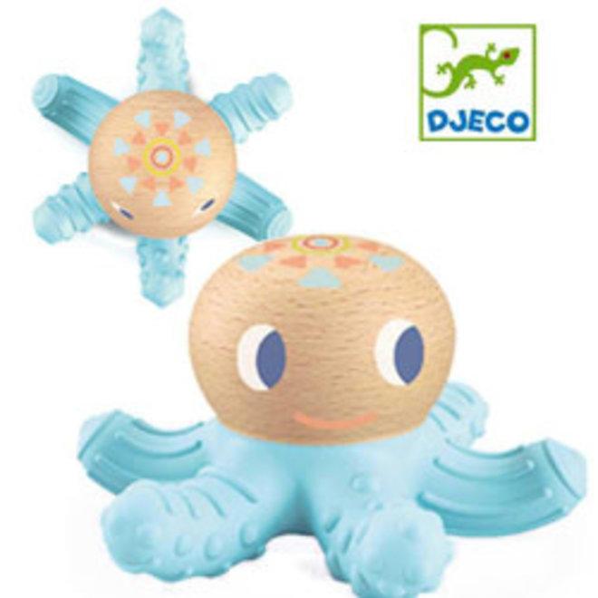 DJECO - Bijt speeltje - BabySquidy