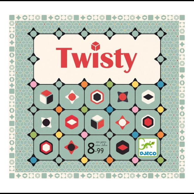 DJECO - Gezelschapsspel - Twisty 8+