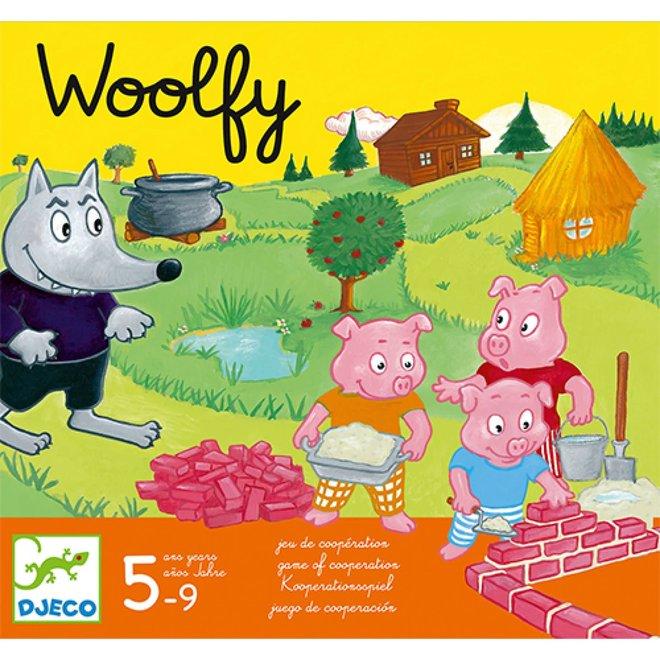 DJECO - Gezelschapsspel - Woolfy 5+
