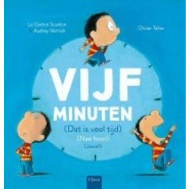 CLAVIS - Kijk - & Voorleesboek - Vijf Minuten 4+