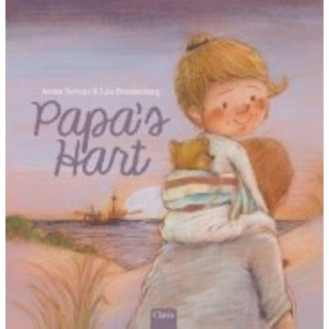 CLAVIS - Kijk - & Voorleesboek - Papa's hart 5+