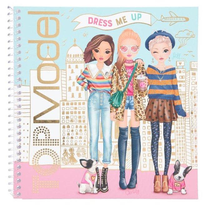 DEPESCHE - Stickerboek - Topmodel Dress me up  5+