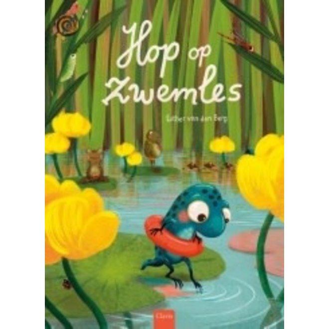 CLAVIS - Kijk - en voorleesboek - Hop op zwemles 4+