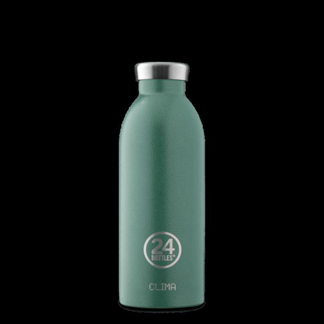 24°BOTTLES - Clima Bottle -  Rustic Moss Green 500ml