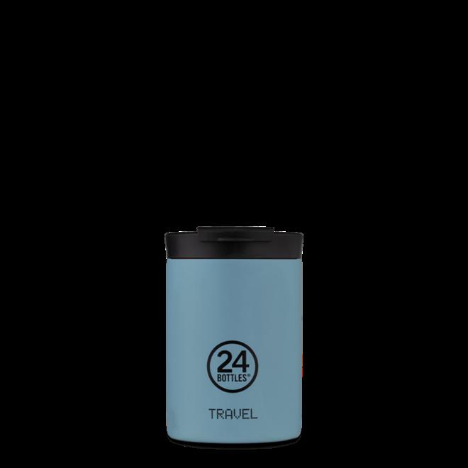 24°BOTTLES - Travel Tumbler - Powder Blue 350ml